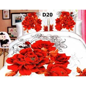 1+1 GRATIS LENJERIE DE PAT 3D + TRANSPORT GRATUIT DOAR 179 RON - D20