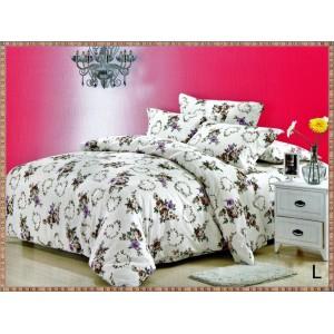 PACHET SFANTA MARIA: lenjerie de pat dublu + cuvertura matlasata cu 2 fete de perna + 2 perne + fata de masa cu motiv pascal CADOU doar 209 LEI, TRANSPORT GRATUIT  - COD L