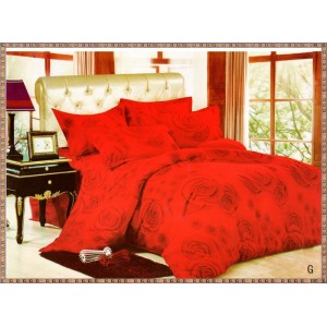 PACHET SFANTA MARIA: lenjerie de pat dublu + cuvertura matlasata cu 2 fete de perna + 2 perne + fata de masa cu motiv pascal CADOU doar 209 LEI, TRANSPORT GRATUIT  - COD G
